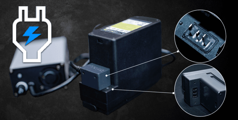 The Smart Batteries Bms controls the charging when connected to the SMART Charger / Multi charger. It will automatically choose the right charge current and balance charge the cells.